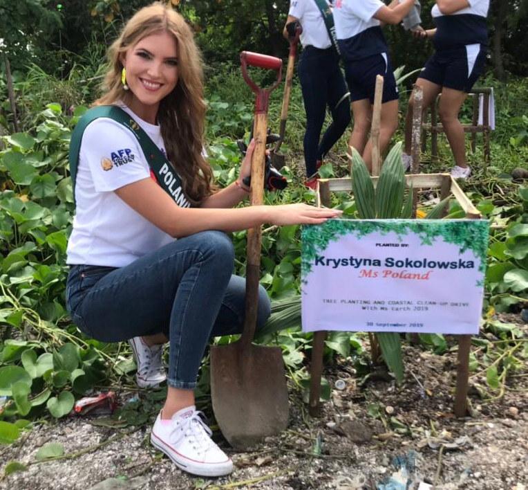Miss Earth Poland, Krystyna Sokołowska /INTERIA.PL/materiały prasowe