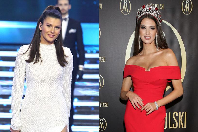 Miss Polski 2012 Katarzyna Krzeszowska  i Miss Polski 2019 Magdalena Kasiborska /materiały prasowe