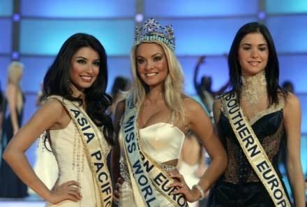 Miss World została Tatiana Kucharova z Czech /AFP