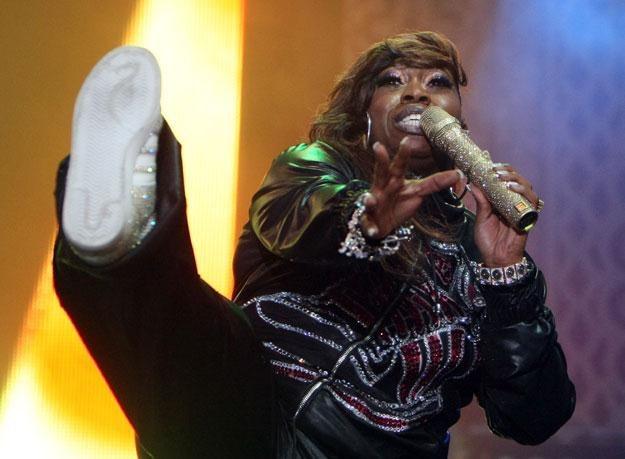 Missy Elliott w wolnych chwilach prowadzi zajęcia z aerobiku fot. Don Arnold /Getty Images/Flash Press Media