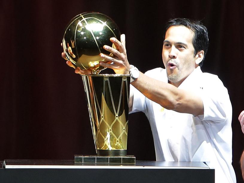 Mistrz NBA - Erik Spoelstra /AFP