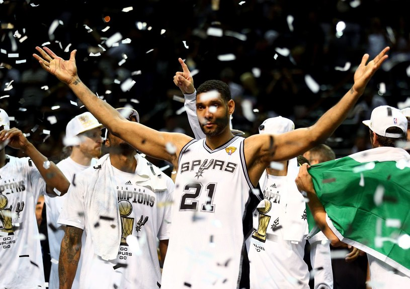 Mistrz NBA - Tim Duncan /AFP