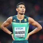 Mistrz olimpijski na 400 m van Niekerk chce przejść do historii