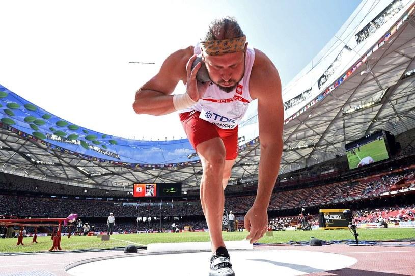 Mistrz olimpijski Tomasz Majewski został wiceprezesem Polskiego Związku Lekkiej Atletyki ds. międzynarodowych /fot. Franck Fife /AFP
