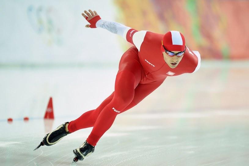 Mistrz olimpijski w łyżwiarstwie szybkim Zbigniew Bródka /AFP