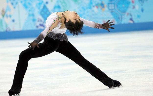 Mistrz olimpijski Yuzuru Hanyu /HOW HWEE YOUNG /PAP/EPA