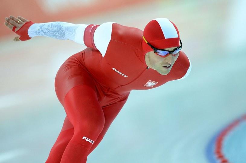 Mistrz olimpijski z Soczi na 1500 m Zbigniew Bródka /AFP