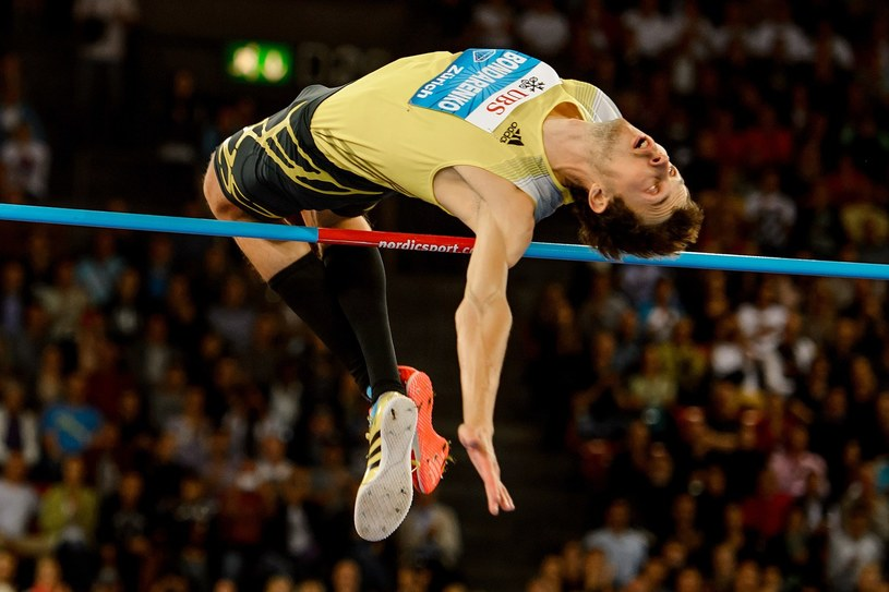 Mistrz świata w skoku wzwyż Ukrainiec Bohdan Bondarenko /AFP