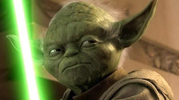 """Mistrz Yoda w """"Ataku klonów"""" /materiały prasowe"""
