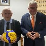 Mistrzostwa Europy siatkarzy. Jarosław Kaczyński kibicuje biało-czerwonym