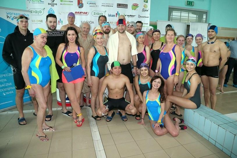 Mistrzostwa Polski Aktorów w Pływaniu /Paweł Wrzecion /MWMedia