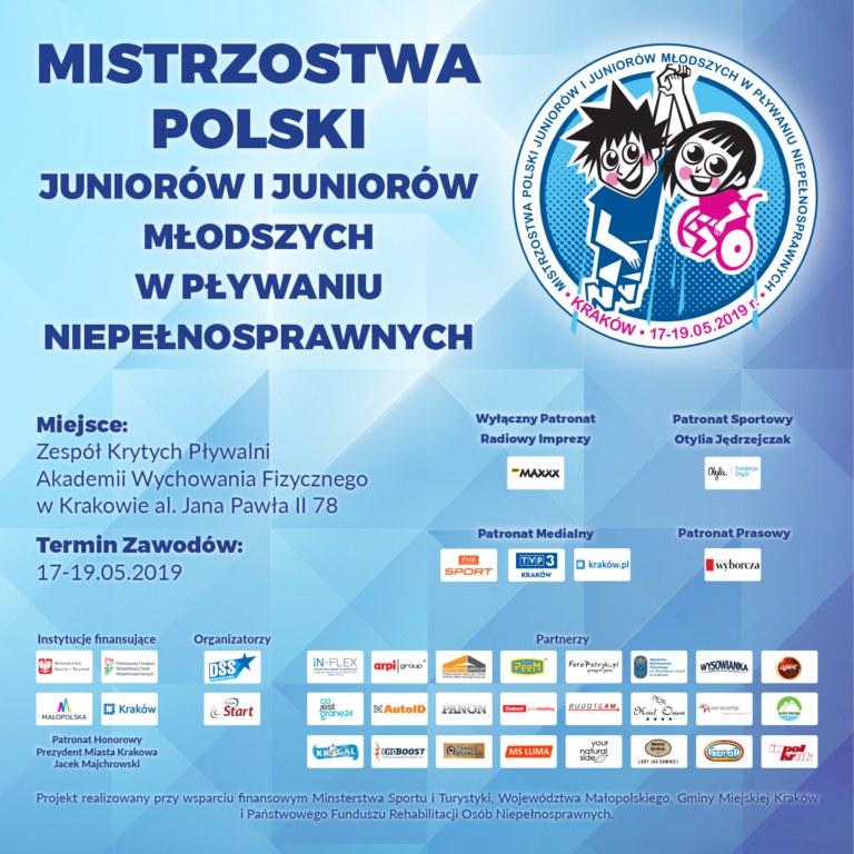 Mistrzostwa Polski Juniorów i Juniorów Młodszych w Pływaniu Niepełnosprawnych /