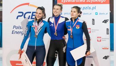 Mistrzostwa Polski w short tracku: Natalia Maliszewska z trzema złotymi medalami