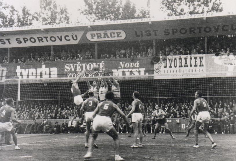 Mistrzostwa świata siatkarzy w 1949 roku /fivb /materiały prasowe