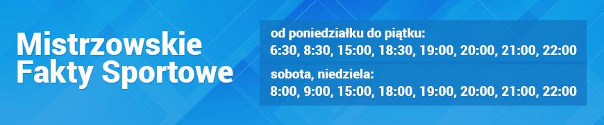 Mistrzowskie Fakty Sportowe /RMF FM