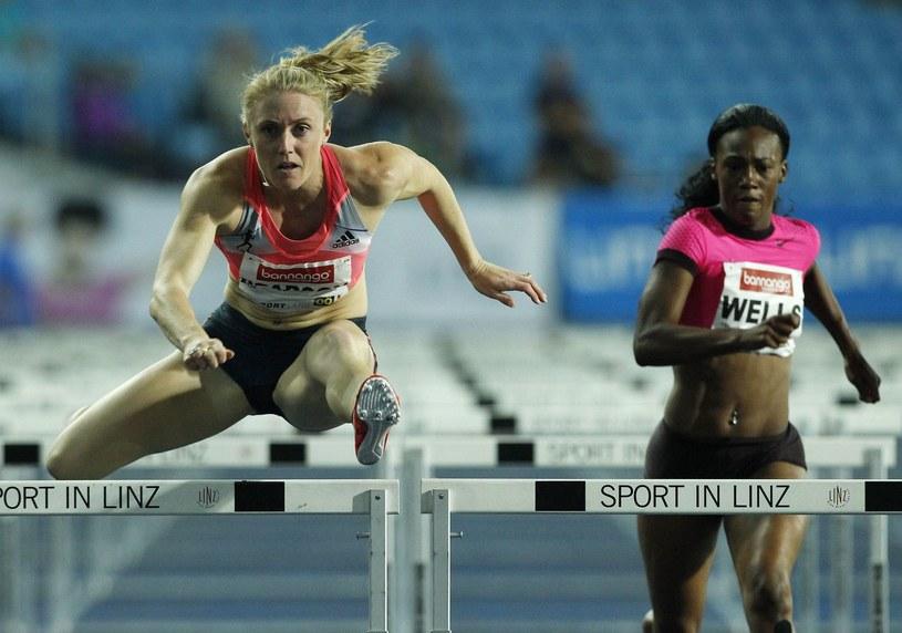 Mistrzyni olimpijska i świata na 100 m ppł - Sally Pearson (z lewej) /AFP