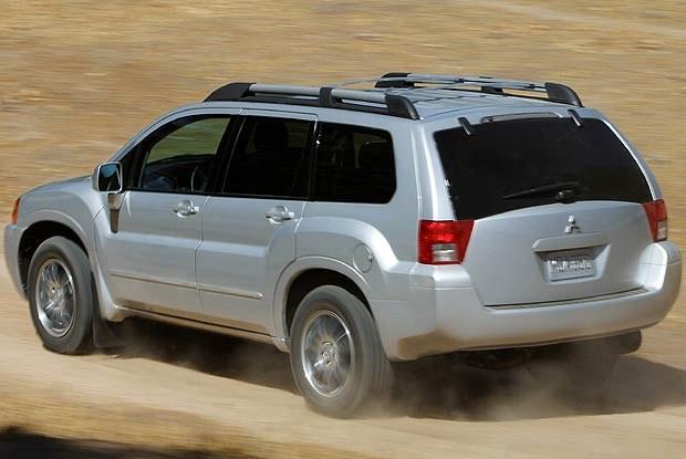 Mitsubishi Endeavor (kliknij) /INTERIA.PL