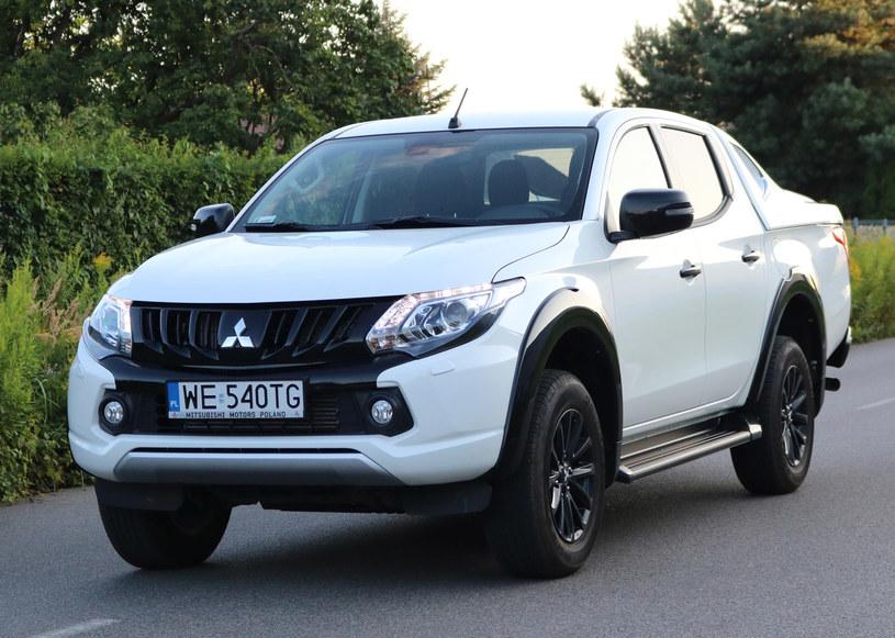 Mitsubishi L200 Black Edition /INTERIA.PL