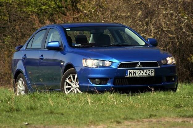 Mitsubishi lancer sedan / Fot: Mirosław Domagała /INTERIA.PL