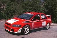 Mitsubishi Lancer WRC2 /INTERIA.PL
