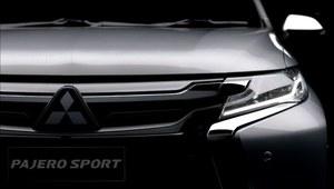 Mitsubishi Pajero Sport - pierwszy film