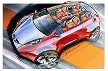 Mitsubishi Tarmac Spyder Concept /INTERIA.PL