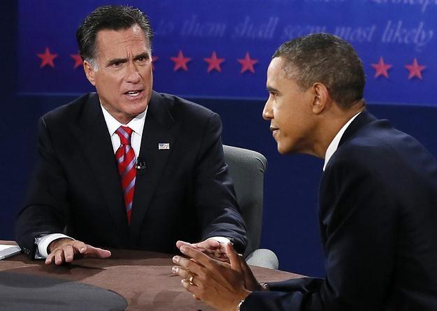 Mitt Romney i Barack Obama /AFP