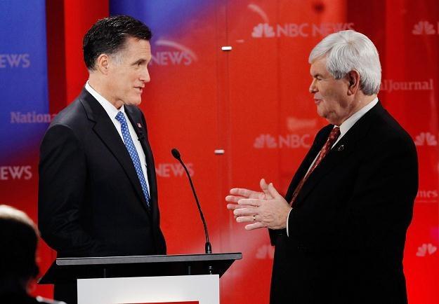 Mitt Romney i Newt Gingrich /AFP