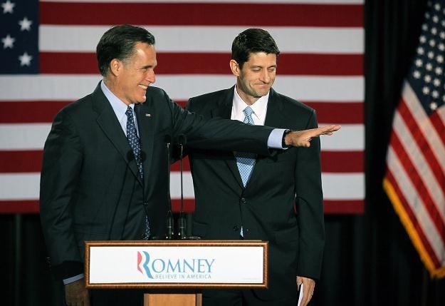 Mitt Romney i Paul Ryan /AFP