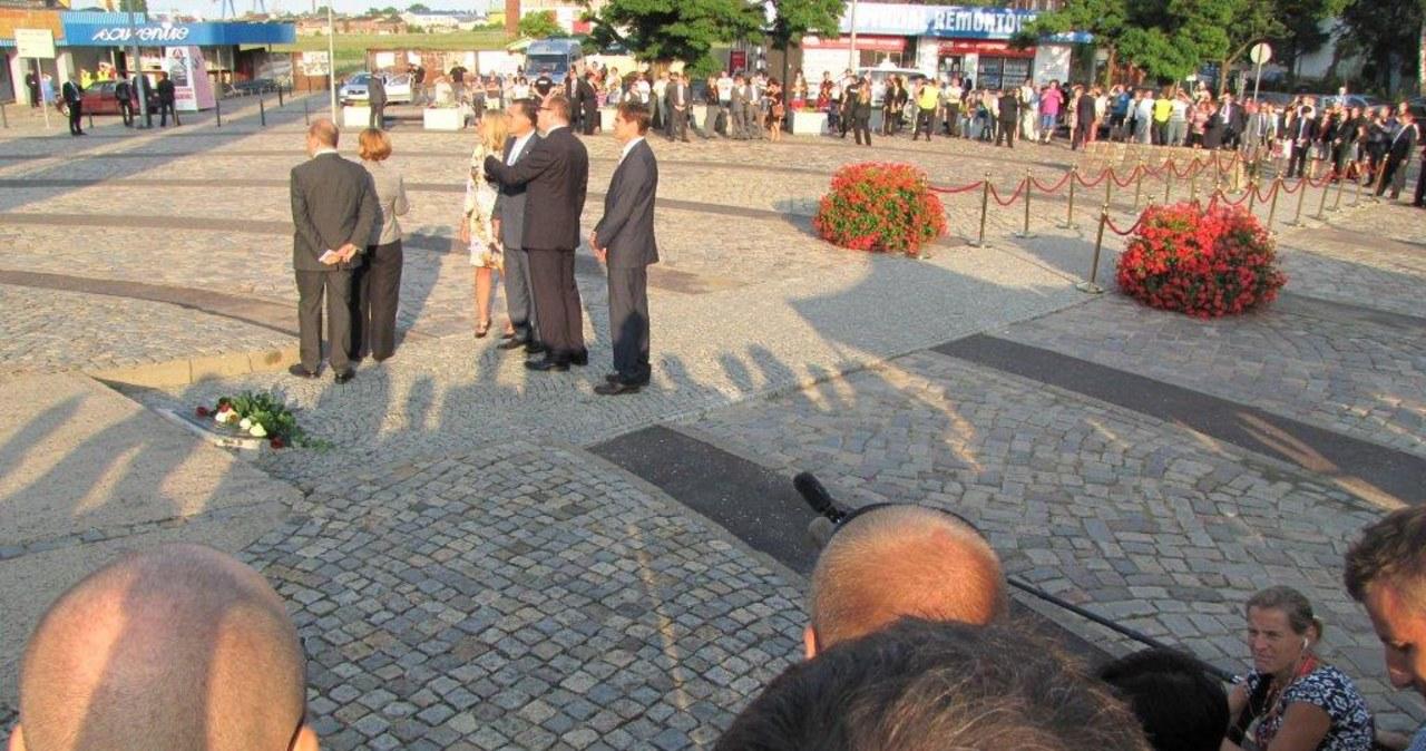 Mitt Romney odwiedził Westerplatte