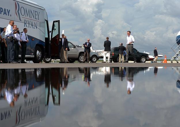 Mitt Romney pokona faworyzowanego Obamę? /AFP