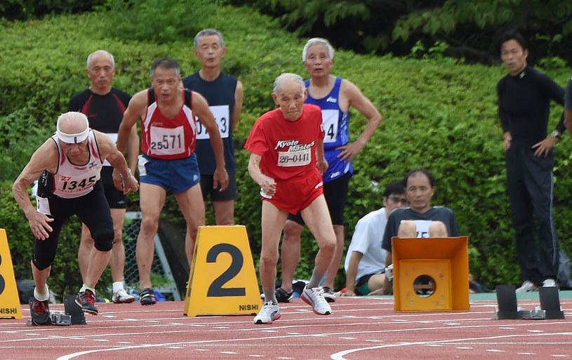 Miyazaki tuż po starcie do wyścigu /AFP