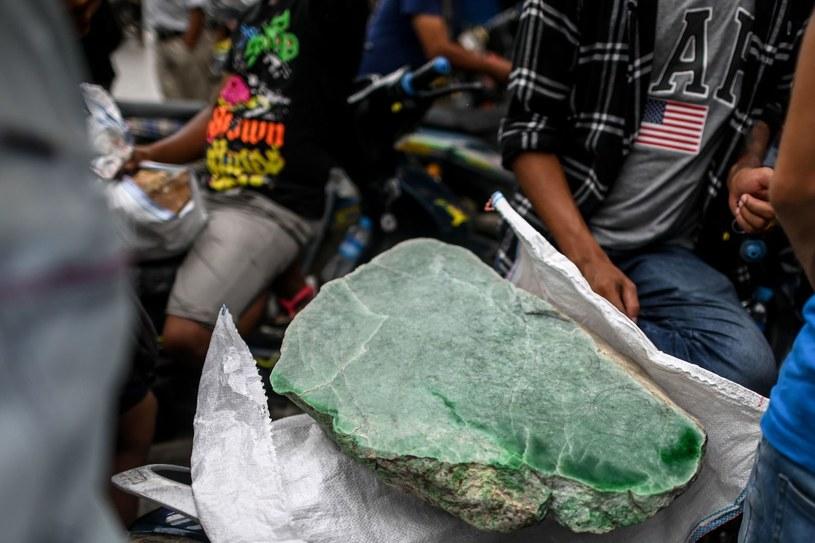 Mjanma (d. Birma) to potentat w wydobyciu kamieni szlachetnych /AFP