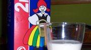 Mleko tanie, ale tylko w skupie