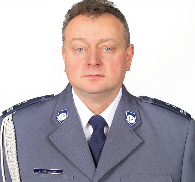 Młodszy inspektor Andrzej Krajewski /policja.waw.pl /