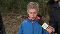 Młody bohater, który pomógł rannemu 81-latkowi