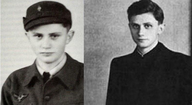 Młody Joseph Ratzinger nie chciał wstąpić do SS. Wiedział, że kiedyś zostanie księdzem /Getty Images/Flash Press Media