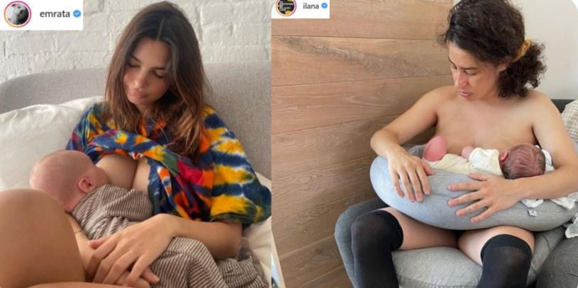 Młody mamy coraz częściej pokazują cienie macierzyństwa /Instagram