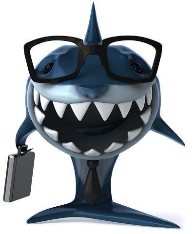 Młody przedsiębiorco - uważaj na rekiny! /© Panthermedia
