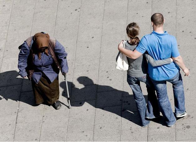 Młody starego nie zrozumie, nie wytłumaczy i nie pomoże/fot. M. Dyjuk
