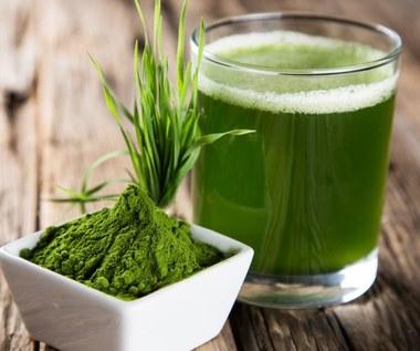 Młody zielony jęczmień: Leczy stany zapalne i pomaga schudnąć