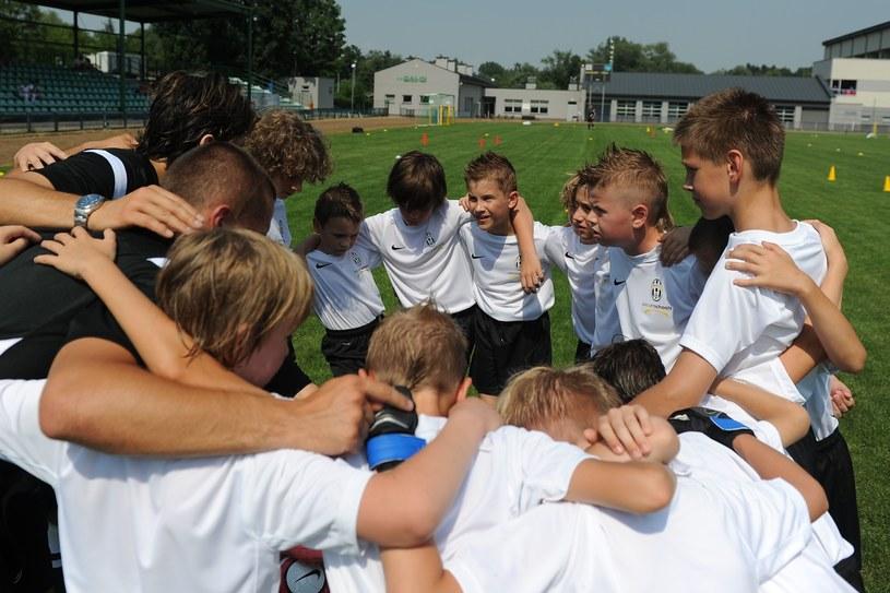 Młodzi adepci futbolu /INTERIA.PL