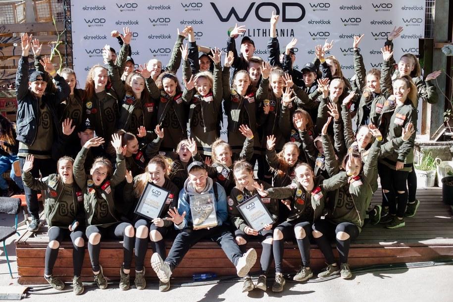 Młodzi tancerze w lubelskiego klubu UDS /foto. UDS /