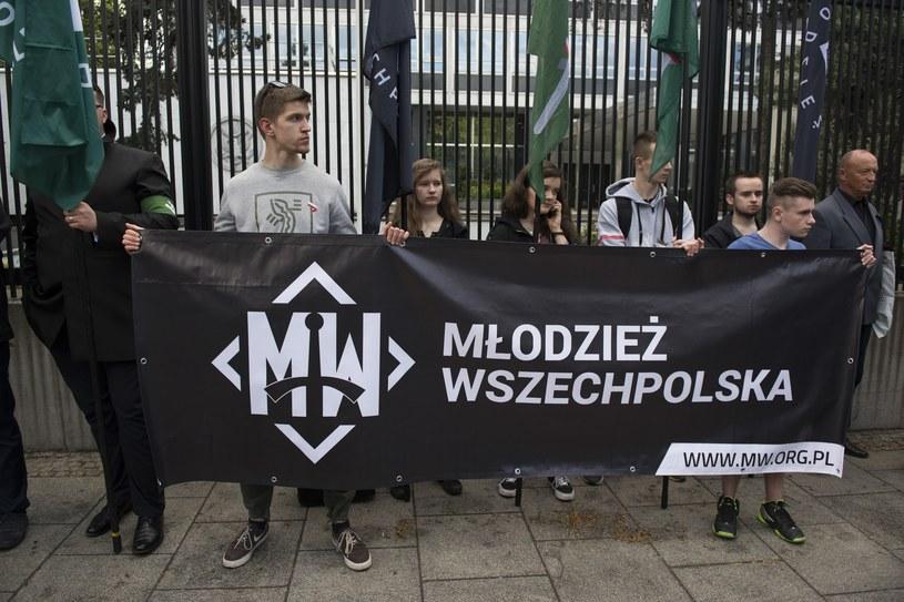 Młodzież Wszechpolska /Jakub Wosik  /Reporter