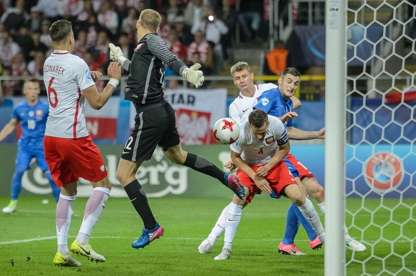 Młodzieżowa reprezentacja Polski od porażki zaczęła MME /Wojciech Pacewicz /PAP