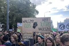 Młodzieżowy strajk klimatyczny w Wraszawie