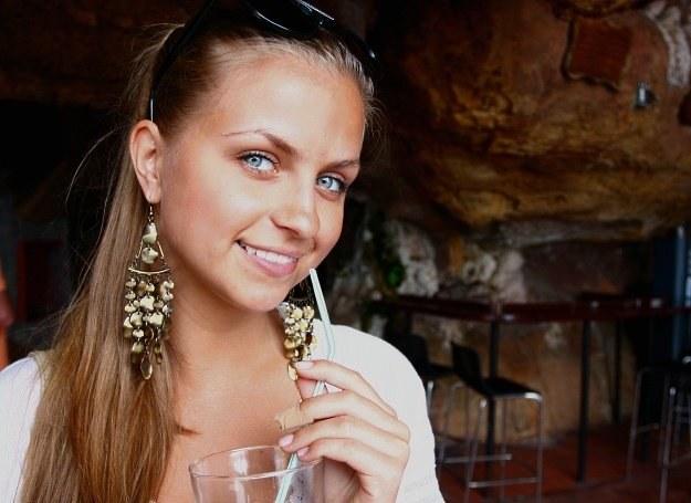Młodziutka Patrycja Lisikiewicz najbardziej dumna jest ze swoich pleców /Marcin Wójcik