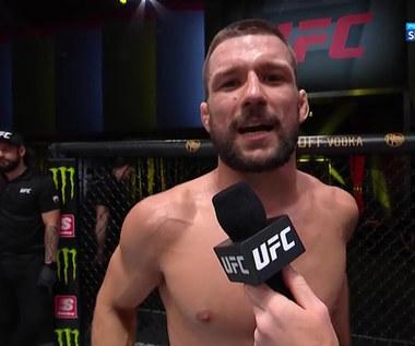 MMA. Mateusz Gamrot: Dajcie mi kolejnego rywala! Chcę walczyć o pas (POLSAT SPORT) Wideo