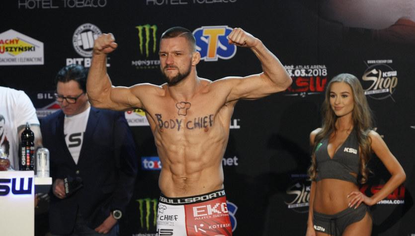 MMA. Mateusz Gamrot pokonał Normana Parke'a w walce wieczoru gali KSW 53