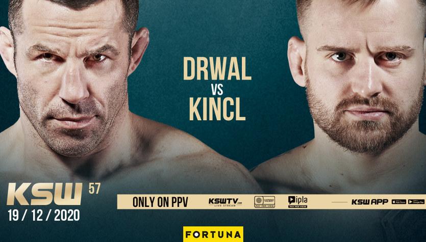 MMA. Tomasz Drwal i Patrik Kincl spotkają się na KSW 57